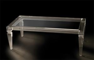arredamento in plexiglass