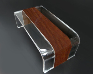 plexiglass furniture. wood and lucite coffee table u0027tiblisiu0027 plexiglass furniture v