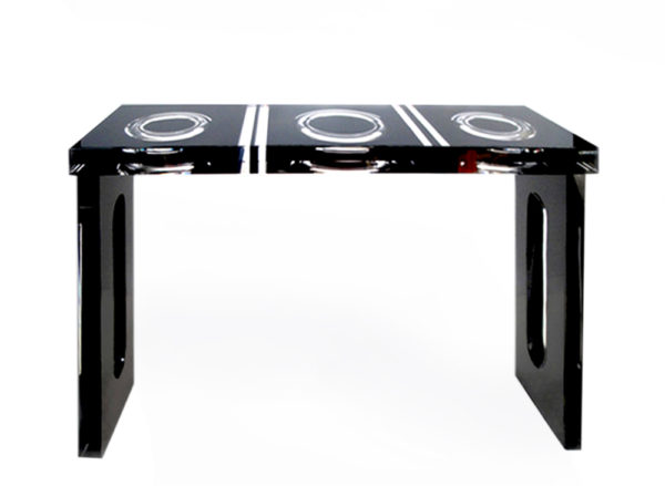 Acryglas console 'Ring' Poliedrica
