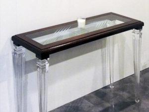 Console plexiglass legno old luigi