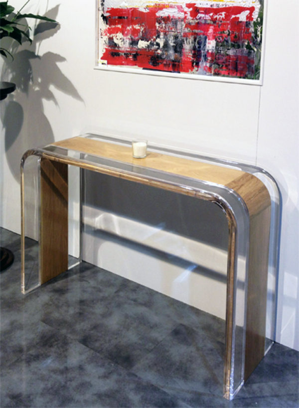 Console table acrylic wood Tiblisi